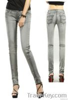 Latest OEM skinny jeans for ladies---jeans factory-lates jeans for lad