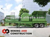 Mobile Crushing Plant,ZENITH mobile crusher