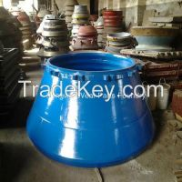 Cone Crusher High Manganese Steel Mantle/Concave