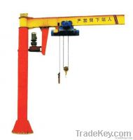 Best Design HY Indoor Industrial Electric Hoist 2 Ton Jib Crane