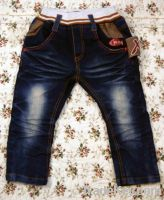 2013 Lovely Embroidered Kids Jeans
