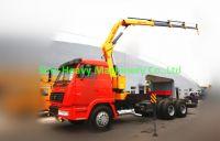 Sell/buy CHINA KNUCKLE BOOM TRUCK CRANE 5TON SQ5ZK3Q Ethiopia/Djibouti/Kenya/Africa