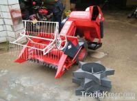 easy operation rice harvester machine
