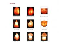 Rock Salt Lamps in Different Types