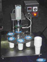 Semi Manual Cup Sealing Machine