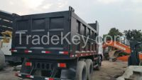 Used Mitubishi  dump truck  with diesel engine