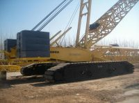 used crawler crane DEMAG CC2500 450t for sell