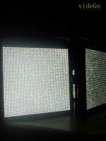 200W high super 1*1 panel light DMX 512 control daylight video light