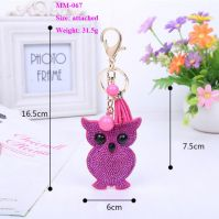 Leather Owl Pendants Fashion Jewelry Accessories Promotion Gifts