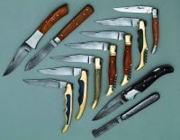 Handmade Damascus hunting knives