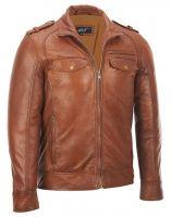 Men Latest 2014 Fashion Leather Jacket