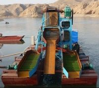 Gold Panning Dredger, Gold mining machine, gold extraction equipment
