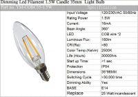 Dimming Led Filament  Light Bulb