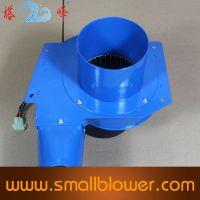 60w powerful centrifugal fan, low noise small suction fan grill exhaust fan speed adjusted fan 220v
