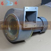 Aluminum Industrial Blower DC motor cooling fan, low noise small medium pressure centrifugal fan