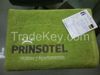 100% Cotton terry bath towels in 16/s ring spun soft quality
