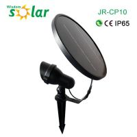 Long Life LED Lamp Outdoor 1W one piece wireless Garden Spike Ground Mount or Wall Light IP65