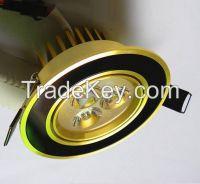 Gold LED Down Light
