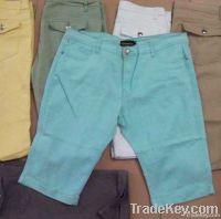 4, 300pcs Ladies Victovia Jeans fashion twill shorts TC1-465