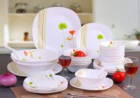 Opal Glass Ware Dinner Sets