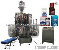 automatic vacuum packaging machine for coffee powder