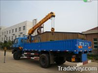 6.3 tons telescopic boom hydraulic truck crane