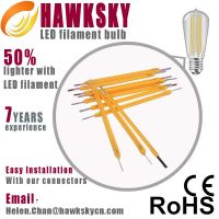 Germany IS test machine 6000~6500K China LED filament bulbs factory