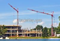 high quality luffing jib tower crane manufacturer