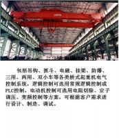 Overhead crane electrical control systems