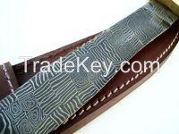 Mosaic Damascus Knife k51