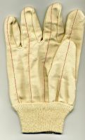 OEM Industrial Gloves, Cotton Canvas Hot Mill Gloves Stock