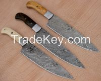 CLASSIC CHEF KNIFE, 13 INCHES, TWISTED PATTERN