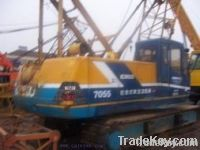 Used KOBELCO 7055(55T) Crawler Crane