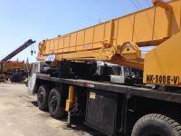 Used Kato NK500E-V Truck Crane, Used Kato 50t Truck Crane