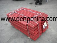 High Manganese Jaw Plate/Jaw Crusher Spare Parts/Jaw Plate