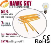 B22 holder LED filament light factory
