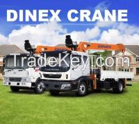 DINEX boom crane DH76, 7 tone