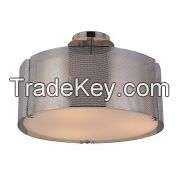 2014 cheap wholesale price ceiling lights with chrome shade and acrylic bottom