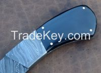 custom handmade damascus steel  knife