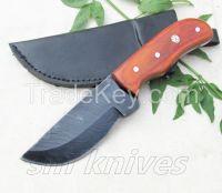 Custom Hand  Made Damascus Hunting Knife