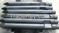 Hydraulic rock breaker chisel, Hydraulic rock hammer chisel