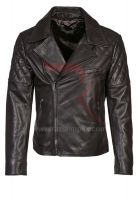 Top Quality New Design Winter Fancy Leather Jacket