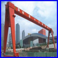 10 and 16 Ton Double Girder Gantry Cranes with Hook