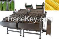 high quality fresh corn peeling machine