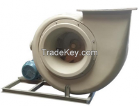 Glass fiber-reinforced plastic centrifugal fan