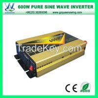 600W pure sine wave power inverter PV Solar Inverter 1200w peak Pure Sine Wave Inverter DC AC CE Rohs (QW-P600B)
