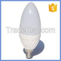 120degree E14 Led White Housing Ceramic Led Light Candle Bulbs