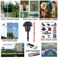 solar lights - solar lamps