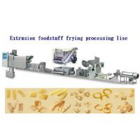 Extruded Pellets Frying Processing Line