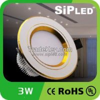 China Supplier 3W/5W/7W/9W/12W 5730 LED Ceiling Light